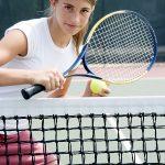 Tennis beansprucht den ganzen Körper