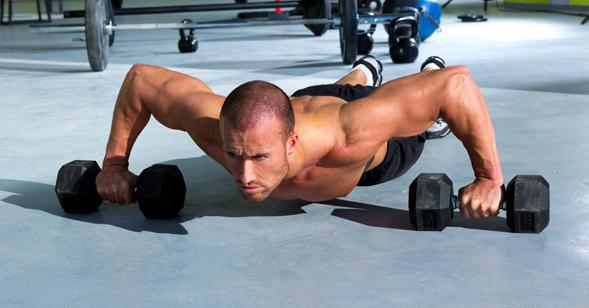 Muskelaufbau Workout